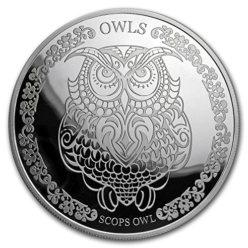2018 NL Tokelau 1 oz Proof Silver Scops Owl 1 OZ About Uncirculated