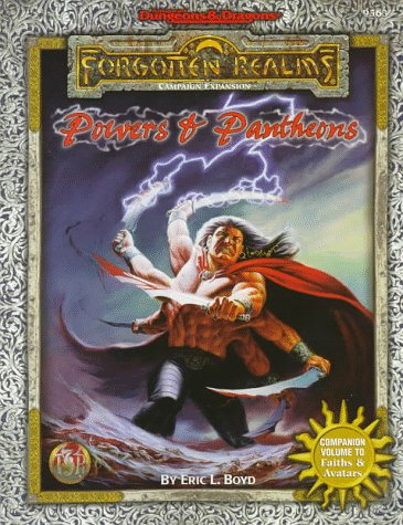 Powers & Pantheons (Advanced Dungeons & Dragons