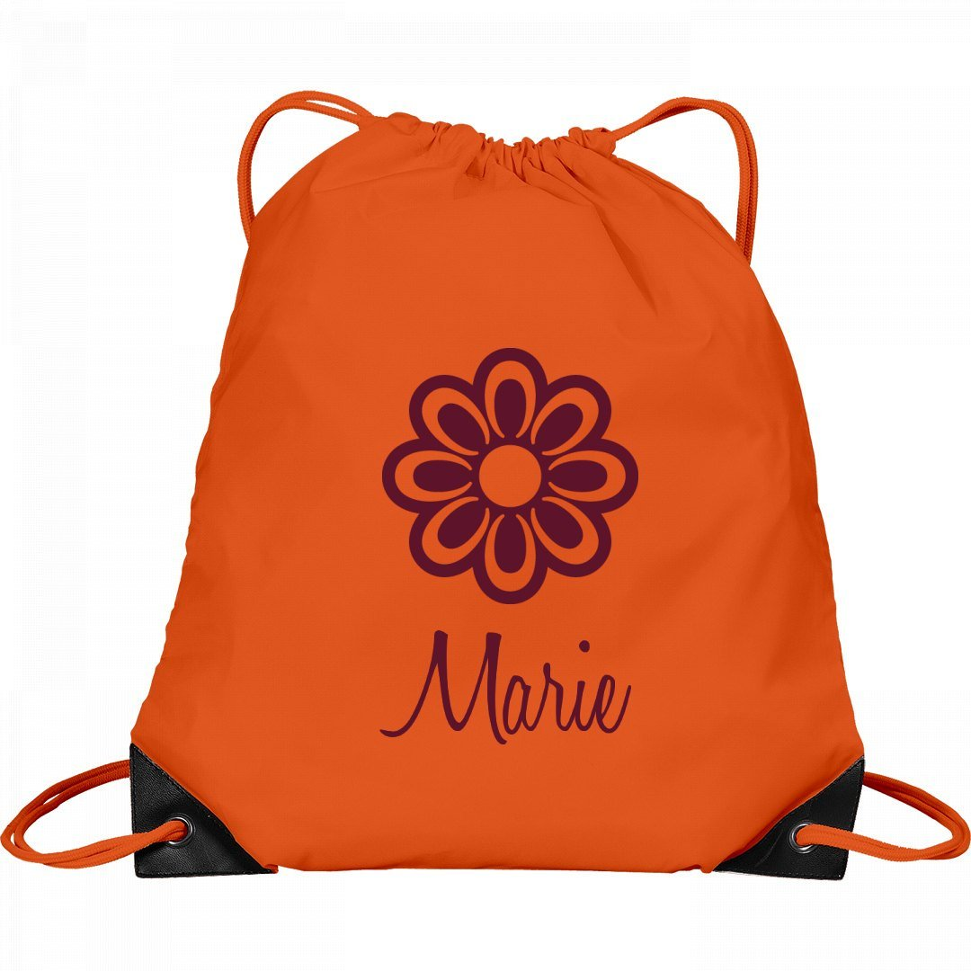Flower Child Marie: Port & Company Drawstring Bag