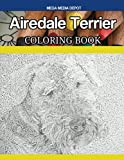 Airedale Terrier Dog Coloring Book