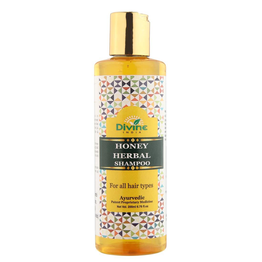 Divine India Honey Shampoo 200 Ml
