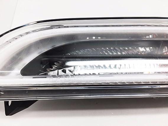 (2) DRL LED de conducción diurna Luz de conducción lámpara para 2009 - 2012 Panamera MK1 Turbo GTS: Amazon.es: Coche y moto