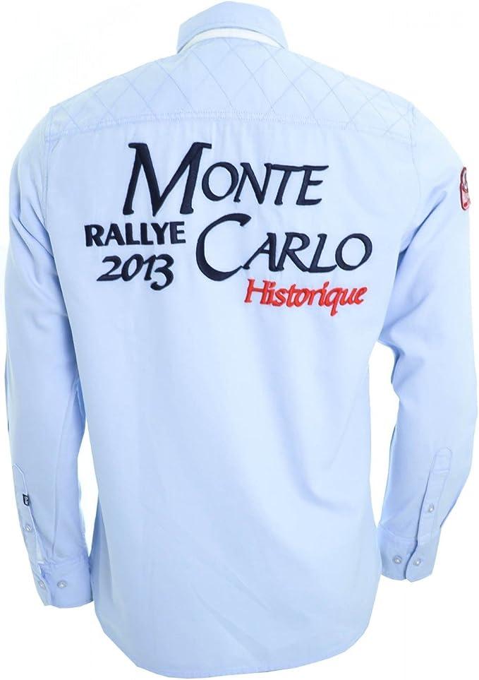 Rallye De Monte Carlo-Carpetas Mc Gregor histórico azul celeste 38: Amazon.es: Ropa y accesorios