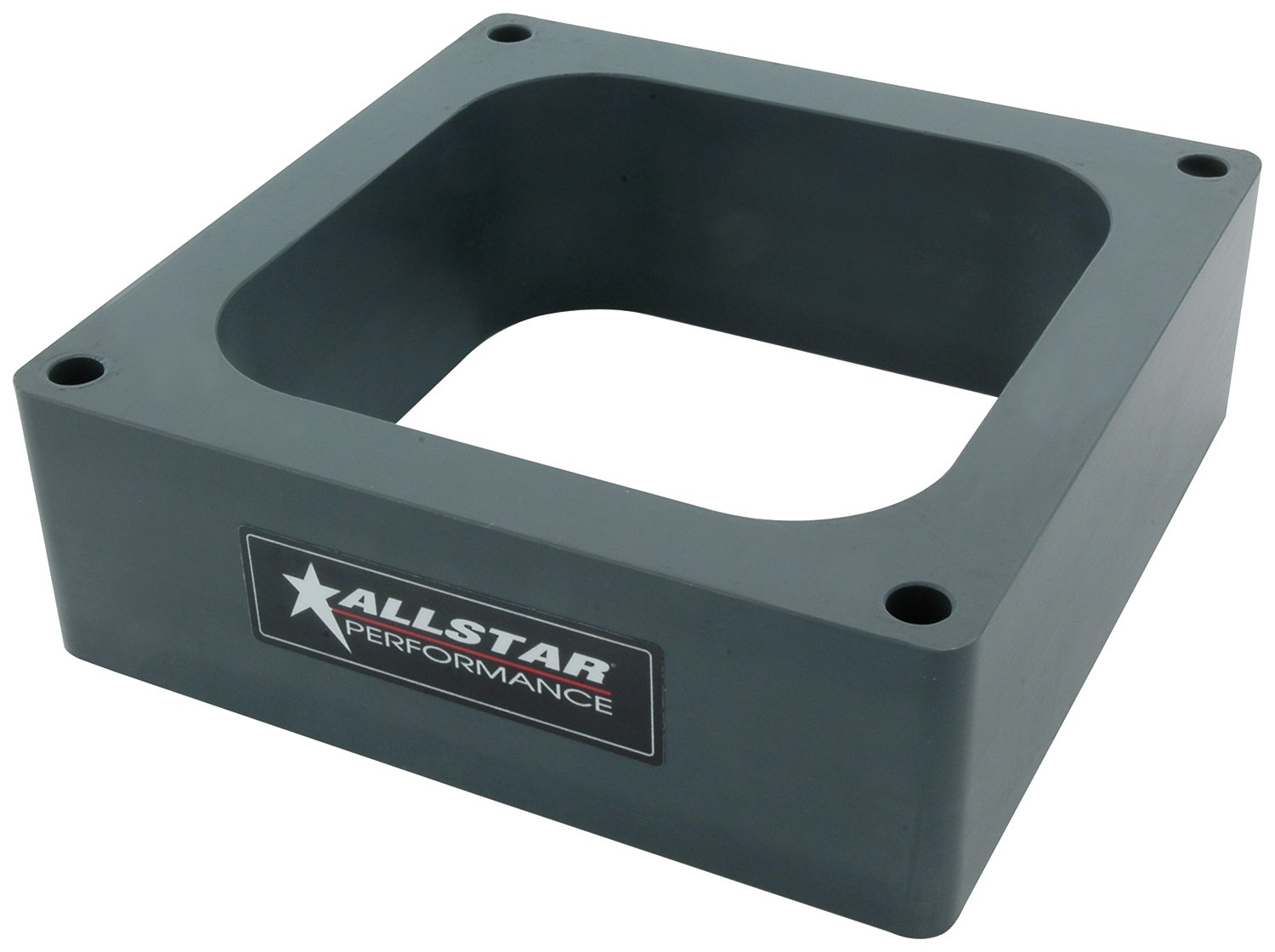 Allstar Performance ALL25993 4500 0.500' 4-Hole Hi-Flow Carburetor Spacer