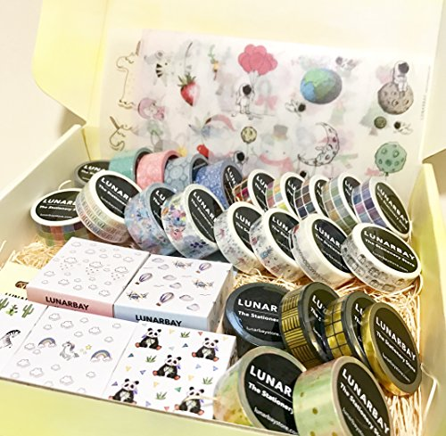 Washi Tapes Bundle Set Stationery Gift Set