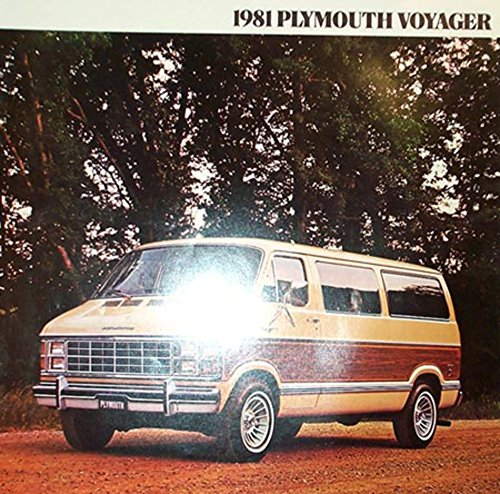 (1981 Plymouth Voyager Sales Brochure Literature Book Advertisement Options Specs)