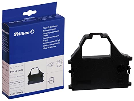 Amazon.com: Pelikan Gr. 691 – Cinta de impresión – 1 x Negro ...