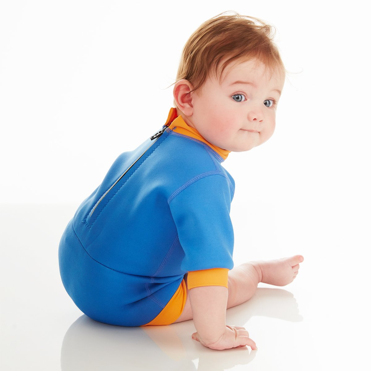 2 in 1 Baby Wetsuit and Diaper Splash About Baby Happy Nappy Wetsuit X Large 12-24 Months, Dragonfly