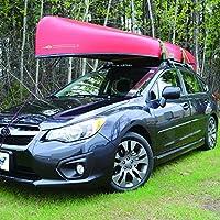 Universal Roof Canoe Gunwale Brackets Car Rack /& Carrier for cross bars 4 piece