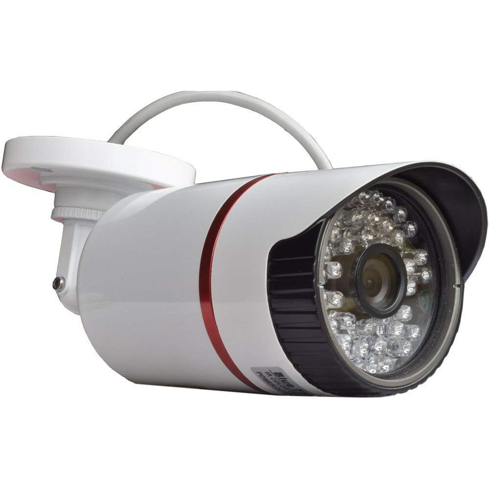 BlueFishCam 2.0MP AHD CCTV Camera 1080P Day/Night Vision CMOS Chips With IR-CUT Wide Angle Security Surveillance 3.6mm Lens Waterproof IP66 48 Infrared LEDs by BlueFishCam