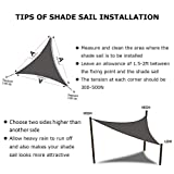 Artpuch Sun Shade Sails Canopy, 185GSM Shade Sail