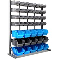 Giantz 47 Bin Storage Shelving Rack Workshop Garage Warehouse Tools Organiser