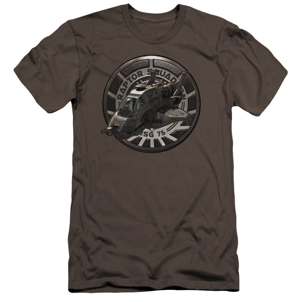 Bsg Raptor Squadron Unisex Adult Canvas Brand T Shirt For And