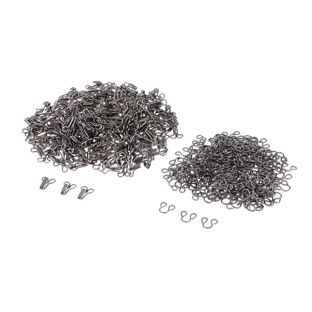perfektchoice Silver Metal Hooks /& Eye Sewing Closure for Coat Jacket Cape Stole Bracelet Jewelry Books Crafts