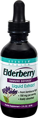 Quantum Health, Elderberry Liquid Extract, 2 Fl Oz