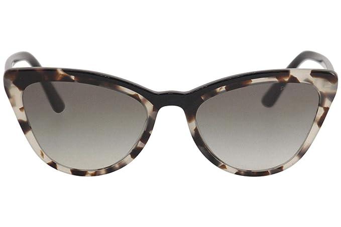 Prada PR01VS 3980A7 Brown/Black PR01VS Cats Eyes Sunglasses ...