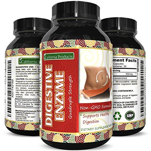 Pure Digestive Enzyme Capsules
