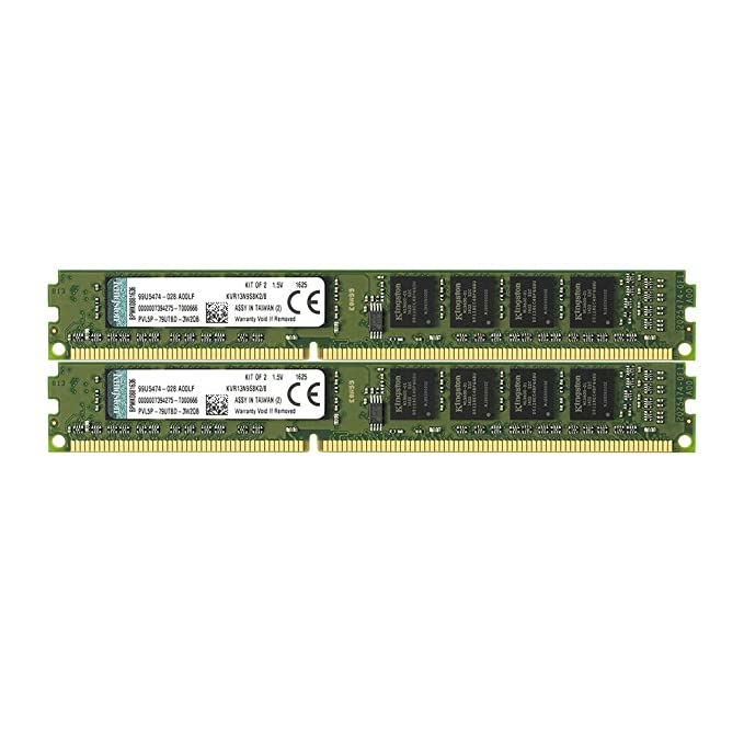 Kingston KVR13N9S8/4 - Memoria RAM de 4 GB (PC3-10600, 240 pines, CL9)