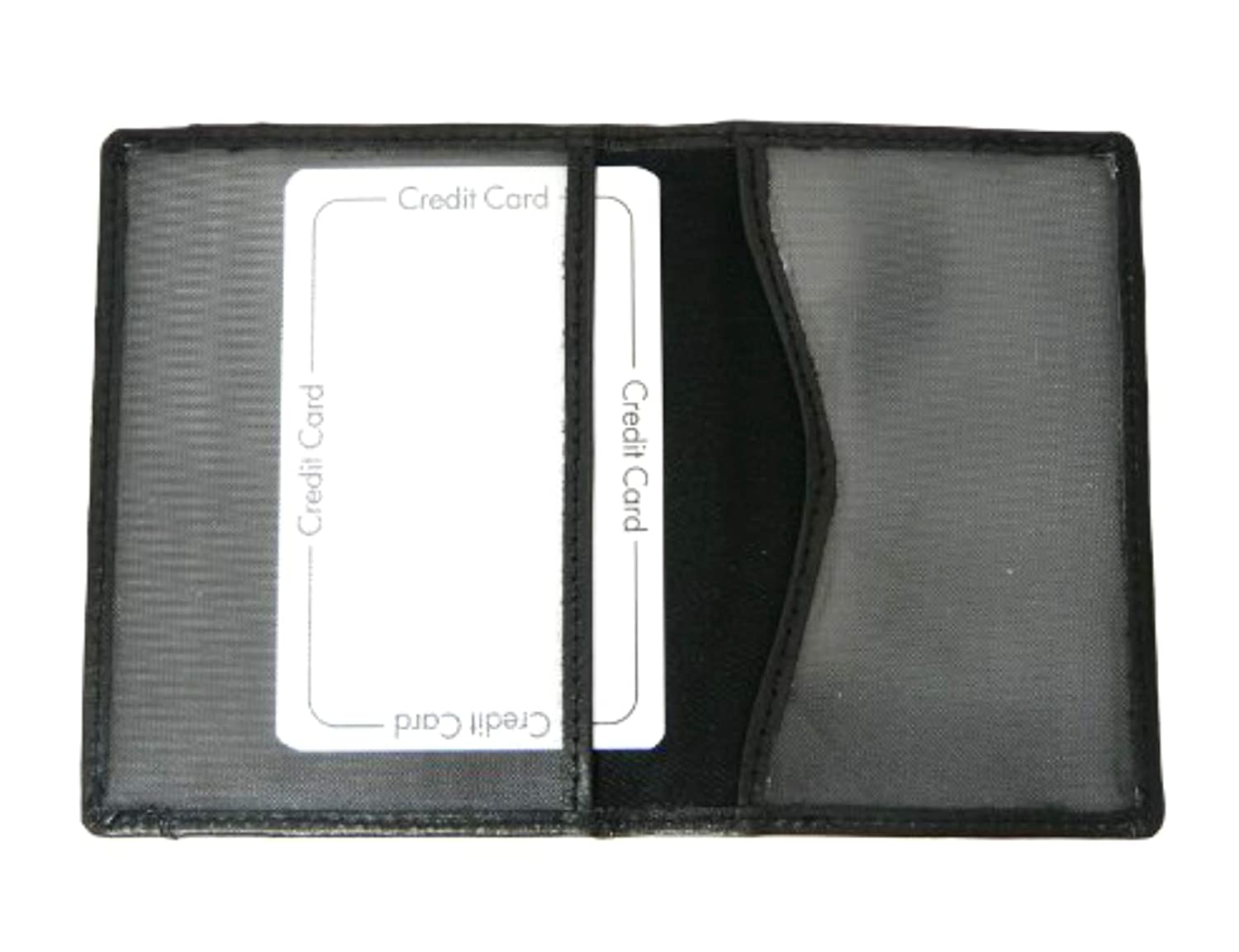 d09dd641b4a Amazon.com  Genuine Leather Travel Pass Oyster   Credit Card Holder Wallet  - BLACK Color  Cygnet Gifts Online