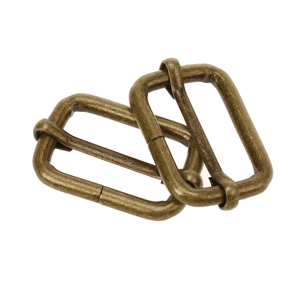 3//4 inch COTOWIN Adjustable Metal Slide Rectangle Buckle,Pack of 20,