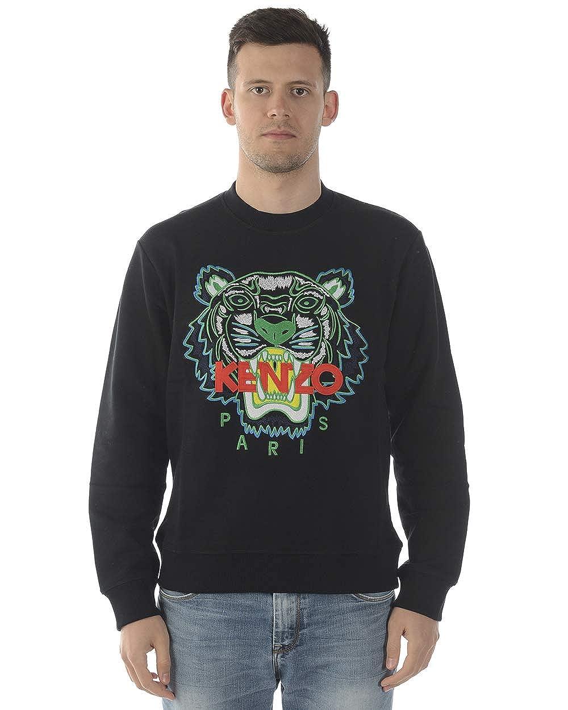 8cc402df Kenzo Mens Black Tiger-Embroidered Cotton Sweatshirt at Amazon Men's  Clothing store: