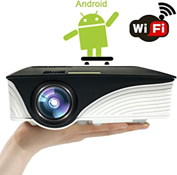 Mini Proyector Android Portátil Videoproyector: Amazon.es: Electrónica