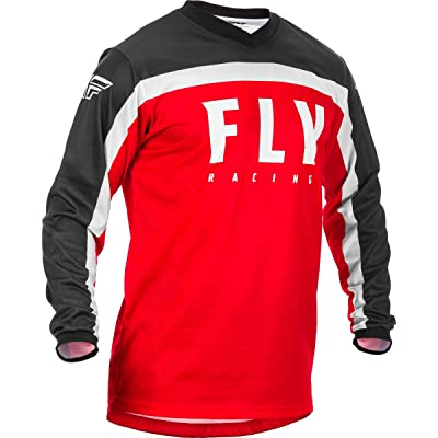 Fly Racing 2020 F-16 Jersey (Small) (RED/Black/White): Automotive