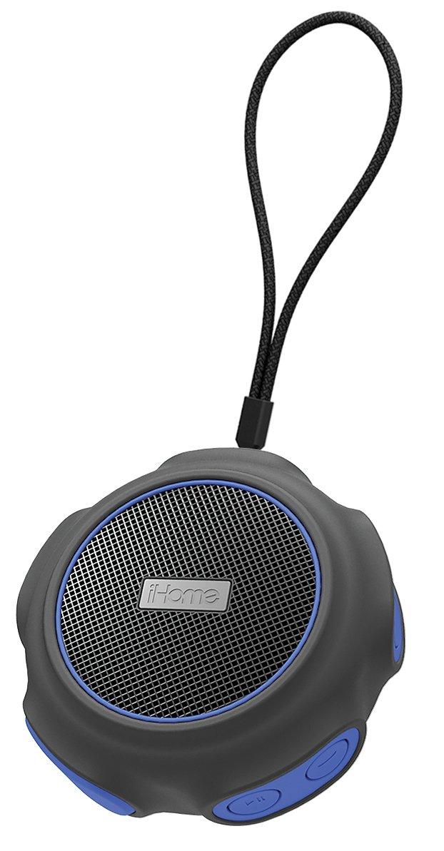 iHome Waterproof + Shockproof Speaker Black/Blue (iBT82BLC) Cesium Telecom CA