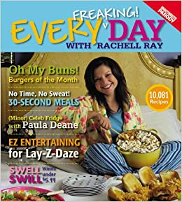 Book Every Freaking! Day with Rachell Ray