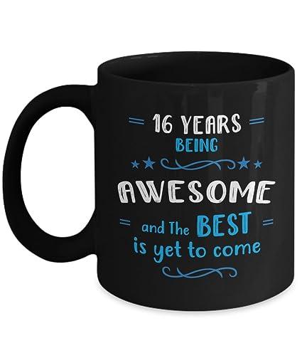 Amazon Happy 16th Birthday Mug