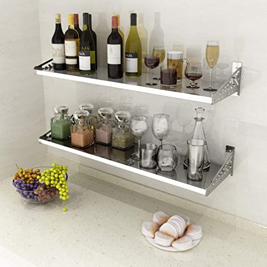Estante de cocina para microondas y horno, de acero inoxidable ...