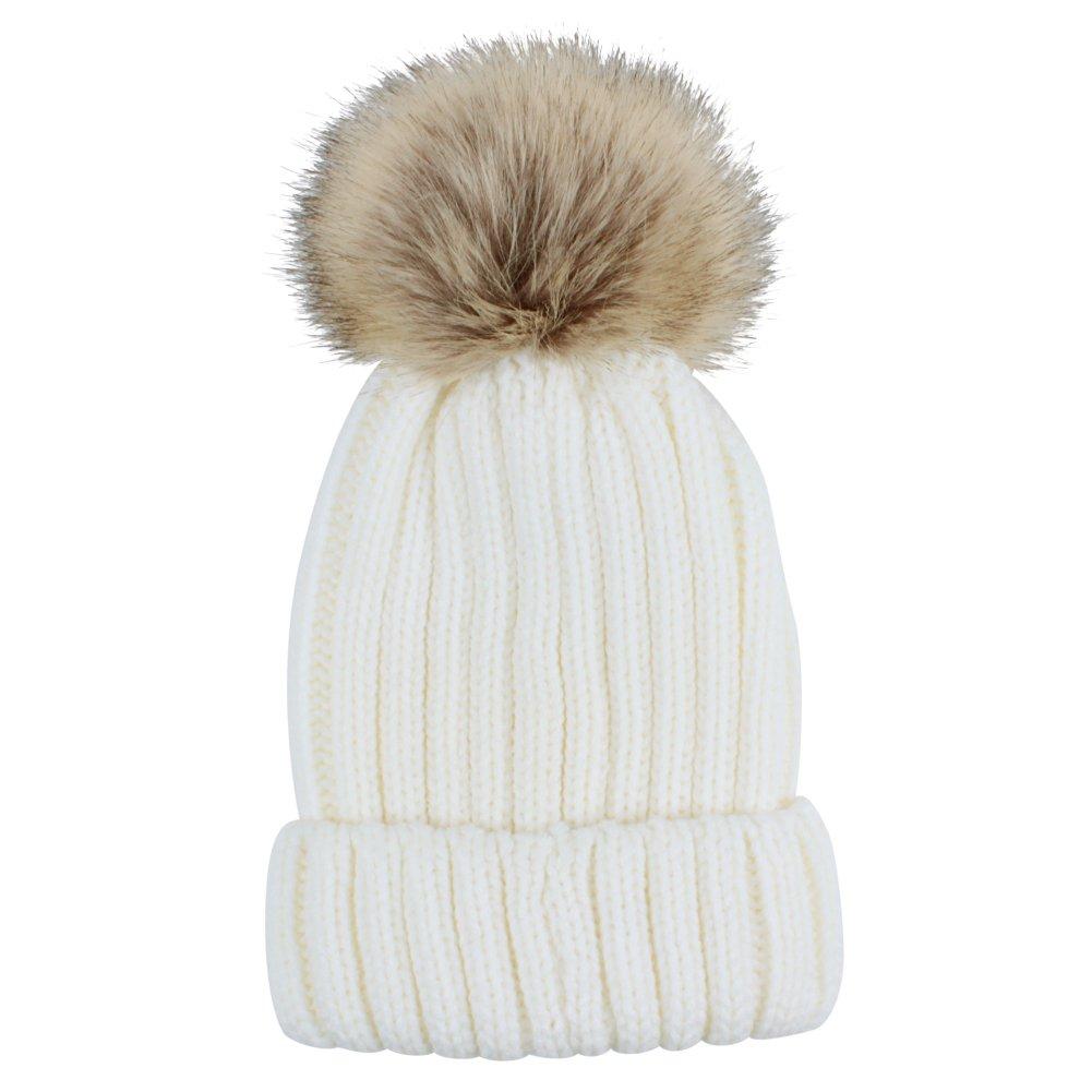 Sunbeter Inverno Cappello a maglia per bambini Simpatico cappello da ... 10f11a8174ab