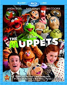 Cover Image for 'Muppets (Two-Disc Blu-ray/DVD Combo), The'