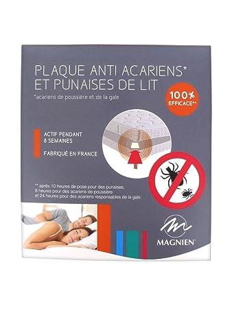 magnien plaque anti acariens et anti punaises de lit - Acariens Lit