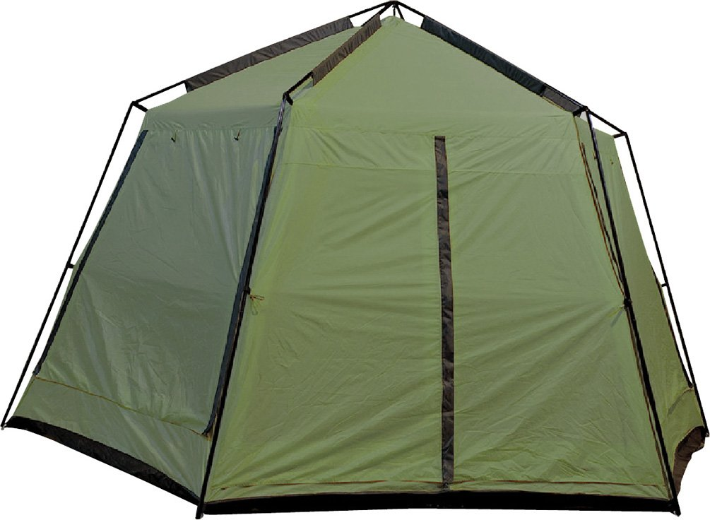 Dining Tent With Rain Flaps Amp Two People Setting Up The