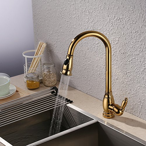Kitchen Faucets Kes Brass Bar Sink Faucet With Pull Shopping