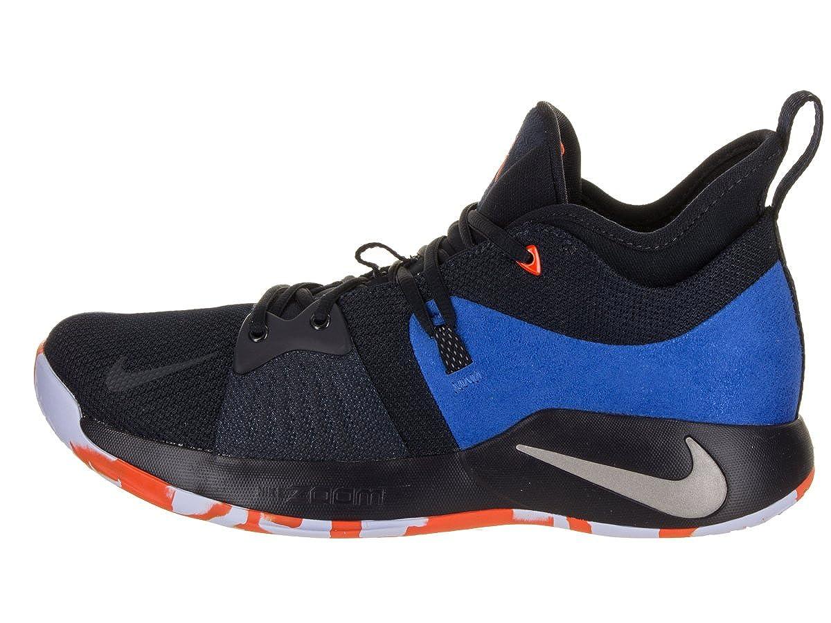 fd682516b876f Nike Mens Paul George PG 2 Basketball Shoes Dark Obsidian/Kinetic  Green/Navy AJ2039-400 Size 11.5
