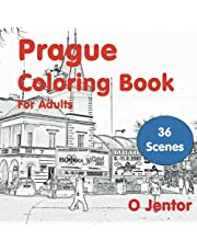 Prague Coloring Book for Adults: Travel and Color