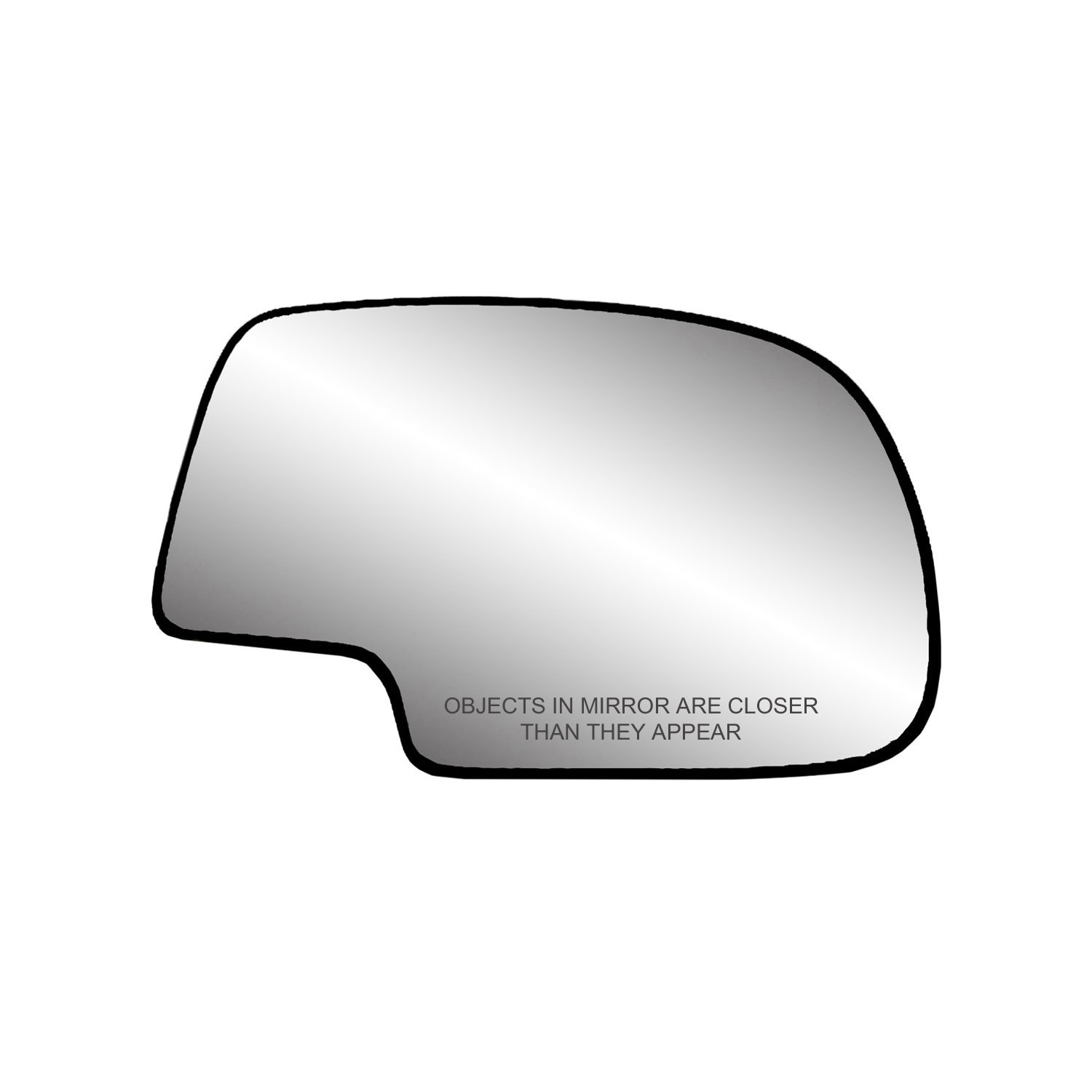 Fit System 30058 Passenger Side (RH) Heated Replacement Mirror Glass with Backing Plate