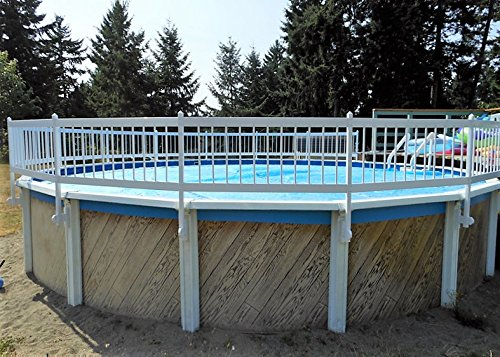 Swimming Pool Safety Fencing - Premium Guard Above Ground Swimming Pool Safety Fence KIT B- 3 Spans (Agpf-kit B)