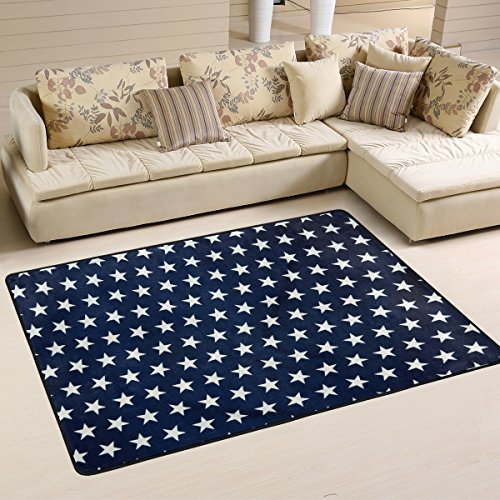 Country American Flag July 4th Independence Day Stars Area R