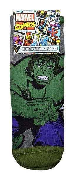 f0abaece74b4 Mens Marvel Comics Avengers Socks Iron Man Captain America Hulk Thor  Spiderman Socks - 4 Pair Set: Amazon.co.uk: Clothing