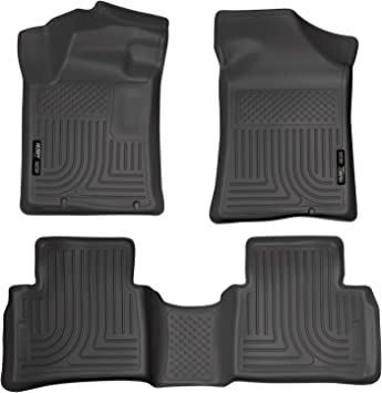 Husky Liners Weatherbeater Floor Mats 1st /& 2nd Row Black for Nissan Altima