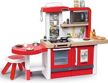 Smoby Cucina Giocattolo Gourmet Evolutiva Colore Rosso 312302 Amazon It Giochi E Giocattoli