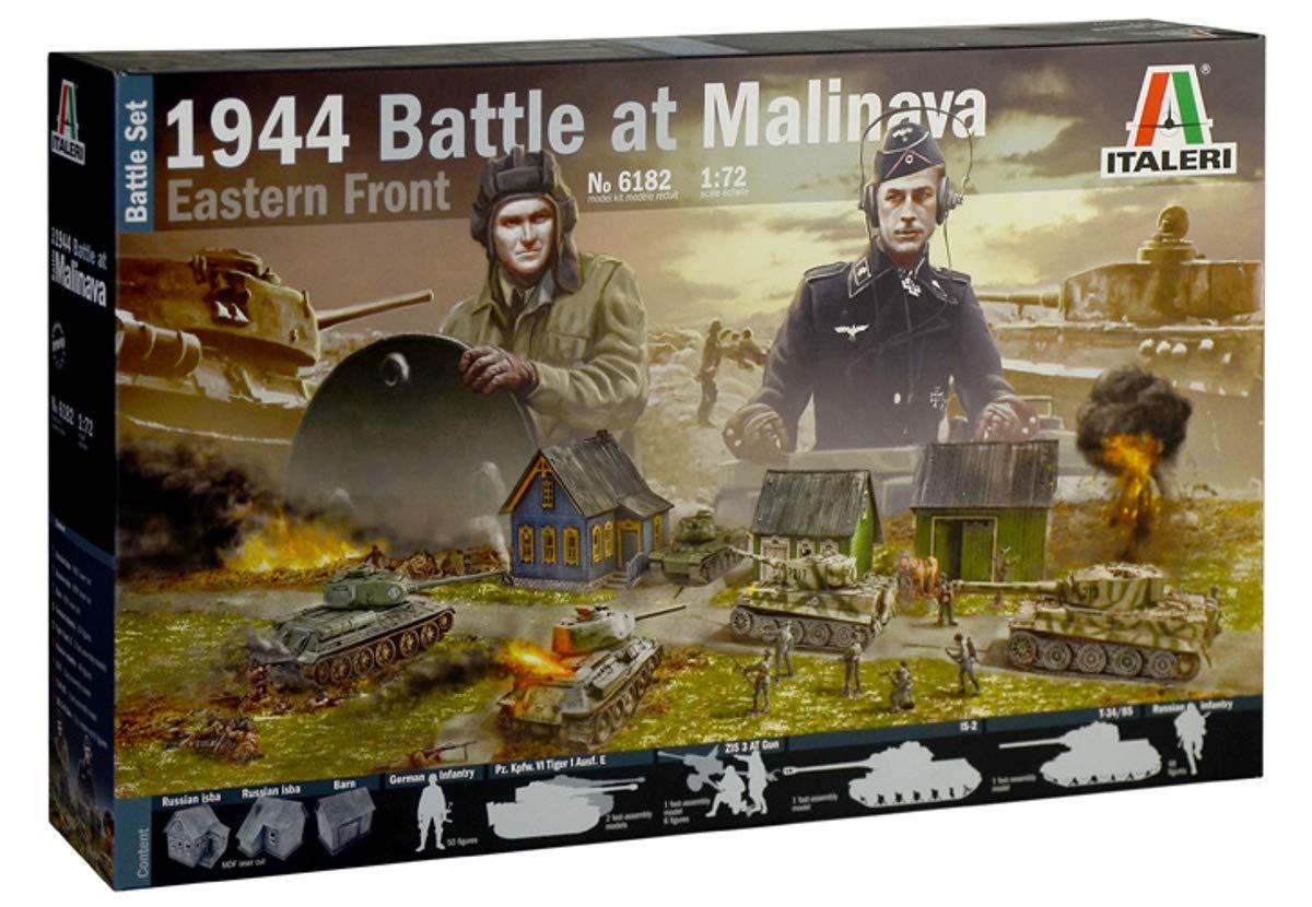 Italeri 1944 Battle of Malinava Battle Set 6182 1:72 Diorama Model Kit