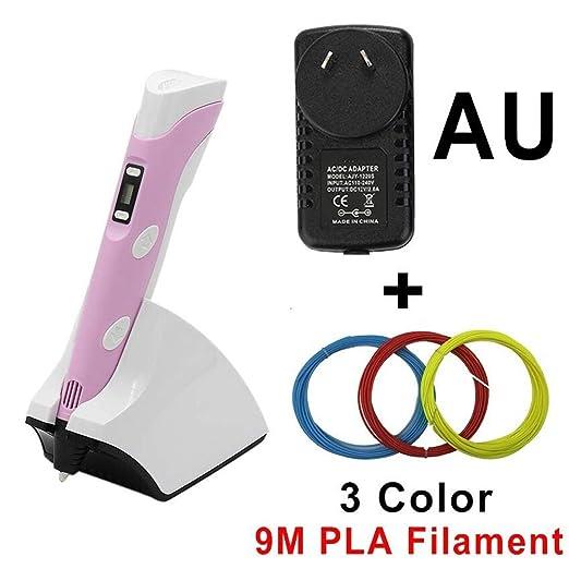 No-branded Juguete Creativo 3D Screen Pen LED 3D Impresora de la ...