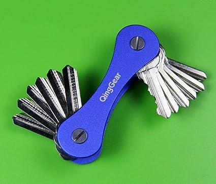Llavero compacto, llaves, titular-Organizador de llaves ...