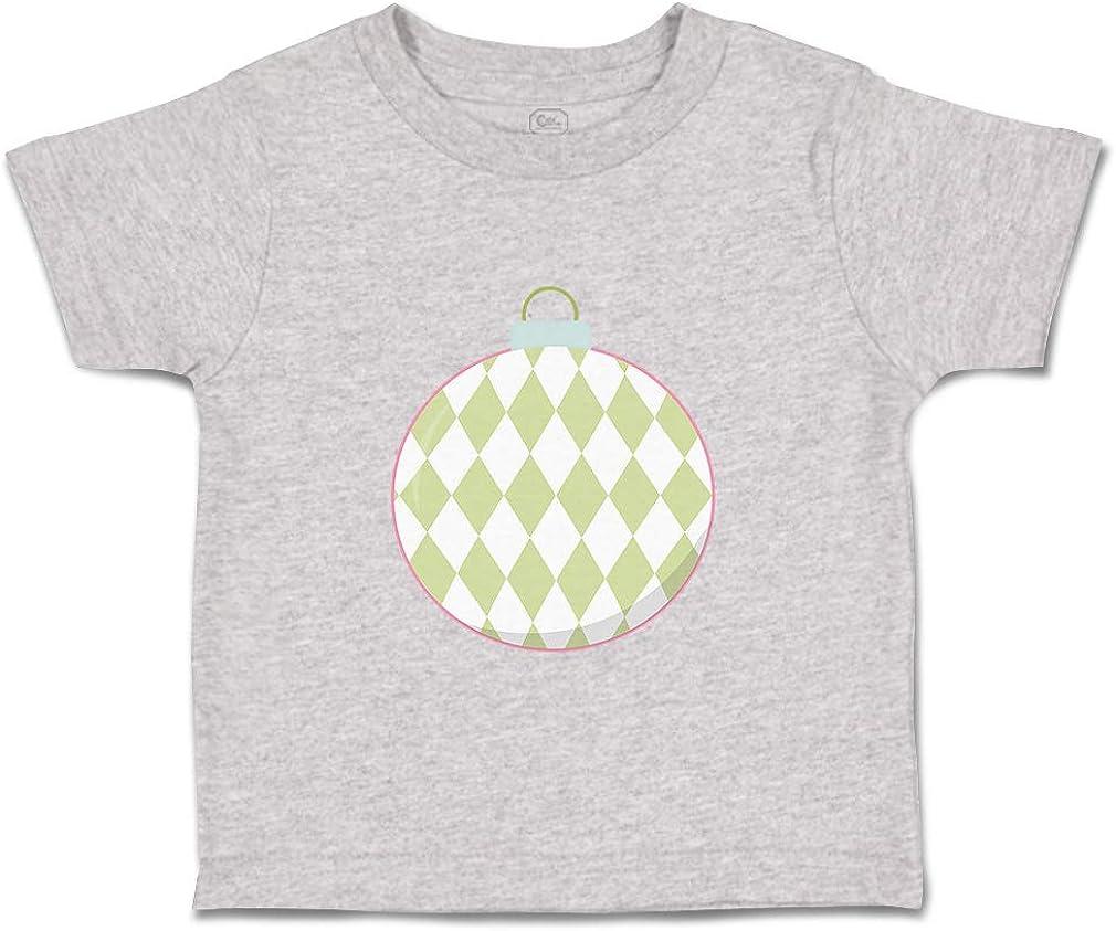 Custom Baby /& Toddler T-Shirt Rhombus Ornament White Green Boy Girl Clothes