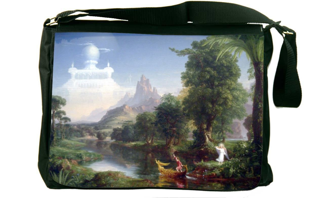 Rikki Knight Thomas Cole Art The Voyage of Life Messenger Bag School Bag