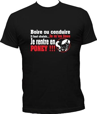 Boutique KKO T-Shirt Humoristique Je Rentre